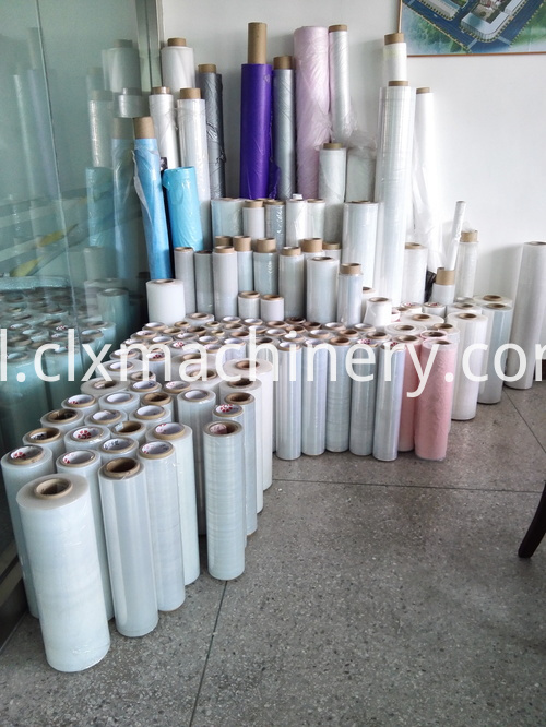 pallet wrapping film equipment