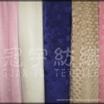 Tissu micro velours à poils courts pour textile à la maison