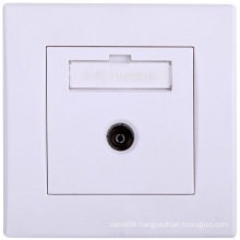 High Quality 1-Digit Cable TV Face Plate