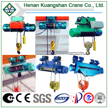 Single and Double Lifting Speed Electric Wire Rope Hoist (CD/MD)