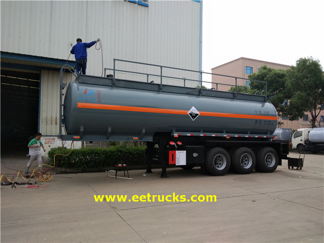 Sulfuric Acid Transport Trailers