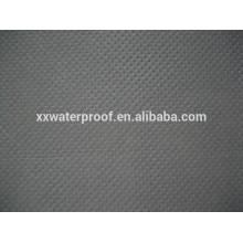 PP telas de tecido não tecido de cor preta