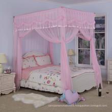 SHUI BAO Romantic Folding Stainless Steel Single door Palace Mosquito Net