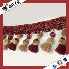 Curtain Tassel Fringe Trimming for Curtain also Home Textile,Valance,Sofa Accessory Decoration