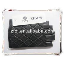 Alta calidad wholsale conducir guantes de cuero sin dedos