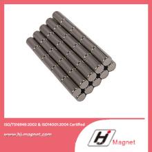 Sinterizada terra rara permanente cilindro China fabricante de ímã de NdFeB com alta qualidade