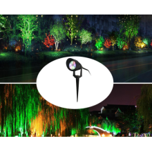 led landscape light rgb with remote control