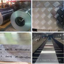 China fabricante Aleación de aluminio para la construcción con varios tamaños