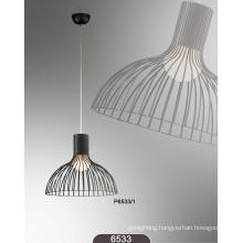 Elegant Contemporary Glass Chrome Pendant Llight (P6533-1)