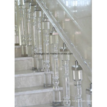 Vidro vidro corrimão escada/vidro decoração/vidro pilar