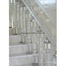 Стеклянные перила стекло лестница/стекло стекло украшения столба