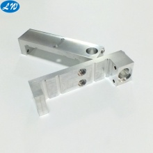 Precision CNC milling silver anodized mechanical parts