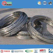 Varilla de alambre de acero de 5.5mm SAE1008 en bobina de acero de bajo carbono