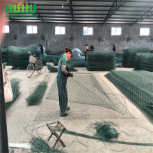 GI hexagon wire mesh roll gabion