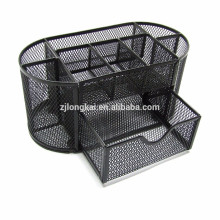 No moq office suppliers metal mesh desk organizer