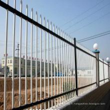 Usine décorative en aluminium clôture panneau pas cher clôture casquettes forgé