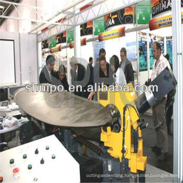 No Template Irregular Dished Head Folding Machine( Trailer Machine)/bending machine/sheet bending machine