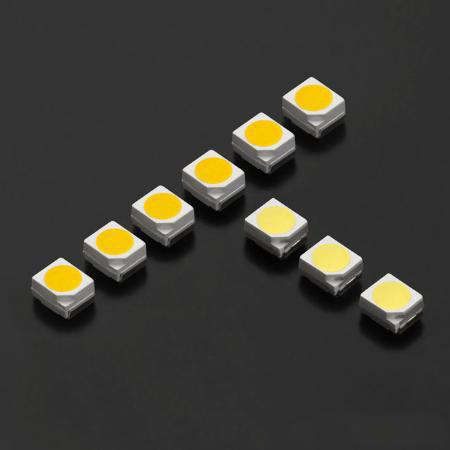 Lámpara de LED verde Chip 1210 SMD
