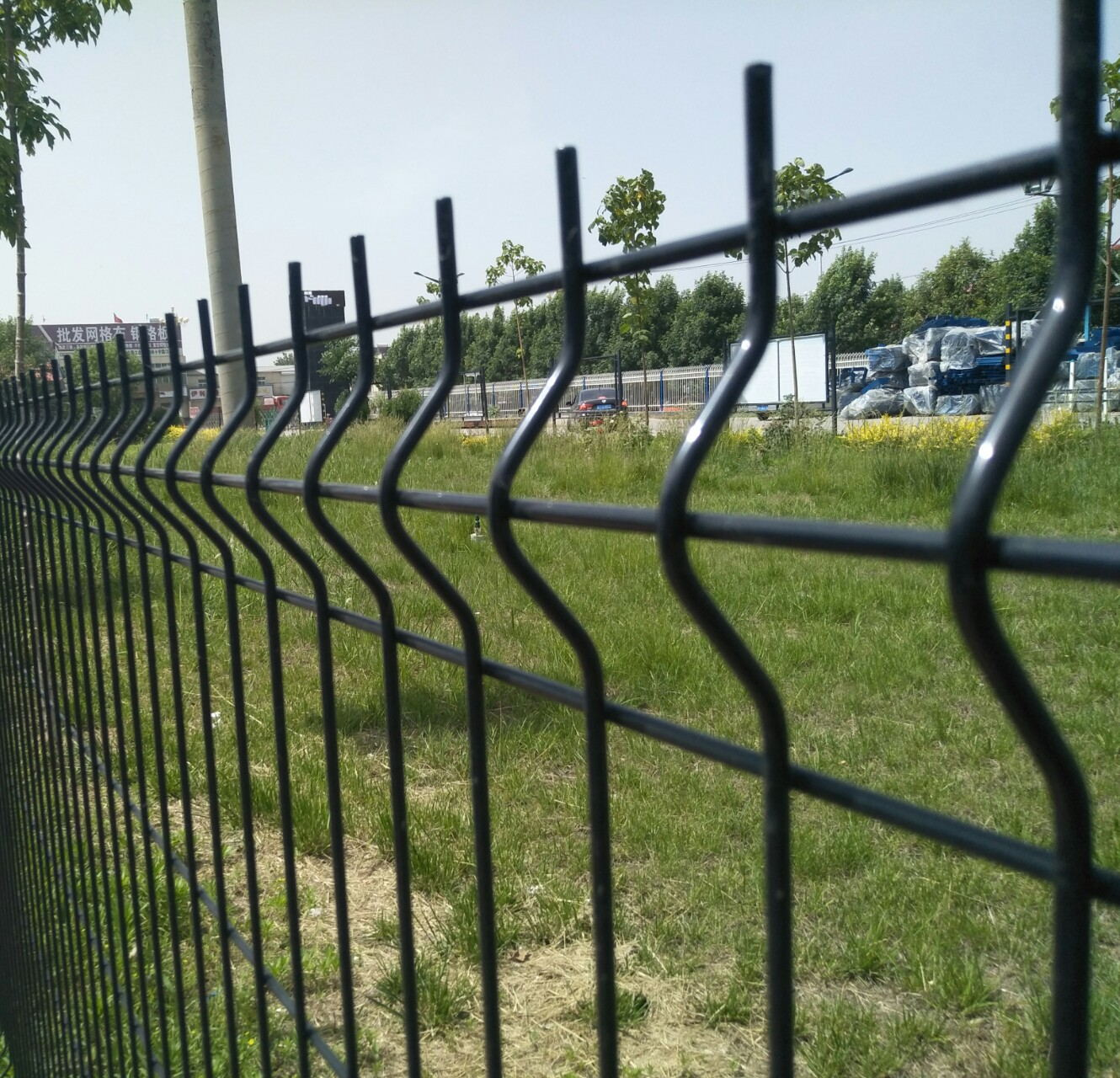 3D Curved Fence Panel