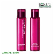 Alta Qualidade 130ml Red Rodada Pet Bottle para Toner