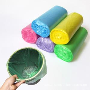 Resealable Plastic Kitchen Garbage Bags