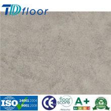 Revestimento de vinil de PVC de padrão de pedra
