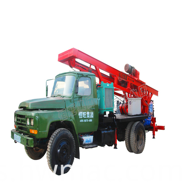 large hole diameter water well drilling machine