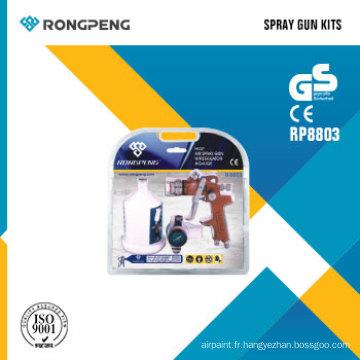 Kits de pistolets pulvérisateurs Rongpeng R8803 HVLP