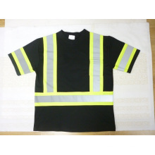 Reflective Safety T-Shirt with Short Sleeve