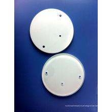 Janelas de Vidro Flutuante Óptico com Furos & Pintura Branca Da China