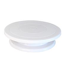 Plastikkuchen-Drehteller, der Werkzeugkuchenstand verziert