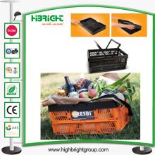 Fabricante del cajón de las cestas de fruta de Folable