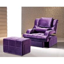 Chaise de sauna violet pour les meubles d'hôtel