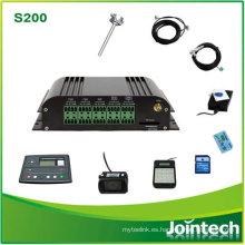 Control remoto del consumo de combustible del sitio celular