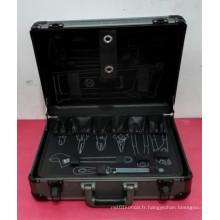 Boîtier à outils à main en aluminium à alliage d'aluminium professionnel personnalisable