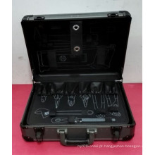 Customizável Professional Alumínio ABS Hand Tool Set Box