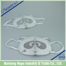 Cotton three-dimensional gauze mask to satisfy the face