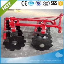 Maquinaria agrícola 1BQX-1.1 (12pcs) Grada de disco ligera montada en 3 puntos