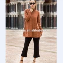 suéter de cachemira de mujer más el tamaño