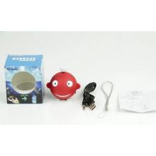 Mini orador bonito do orador de Bluetooth do PVC da forma tubarão nova da promoção para a amostra grátis