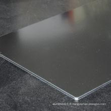 Panneau composite en aluminium Alucosuper pour intérieur et extérieur