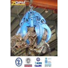 Encavateur de ferraille d'acier Grab/électrique hydraulique peau d'Orange
