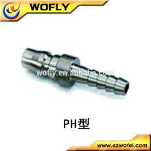 High flow garden hose quick connector/coupler/coupling