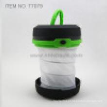 Retráctil de 1 vatio LED camping luz (t7079)