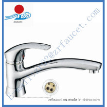 Single Handle Brass Kitchen Faucet (ZR20705-B)