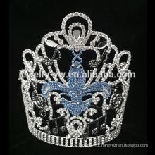 Coroa plástica do casamento da coroa do coração da tiara do casamento