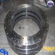 Anel de bola turntable, engrenagem do balanço, rolamento de esferas da plataforma giratória
