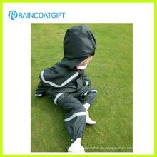 Kinder PU/PVC Overall Regenmantel