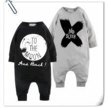Wholesale Cheap Kid Clothing Child Cloth Set Pajama Jumpsuit Boy Long Sleeve Knitted Toddler Clothing