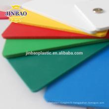 Panneau de signe de mousse de Foamex de feuille de PVC de mousse noire de JINBAO 3mm